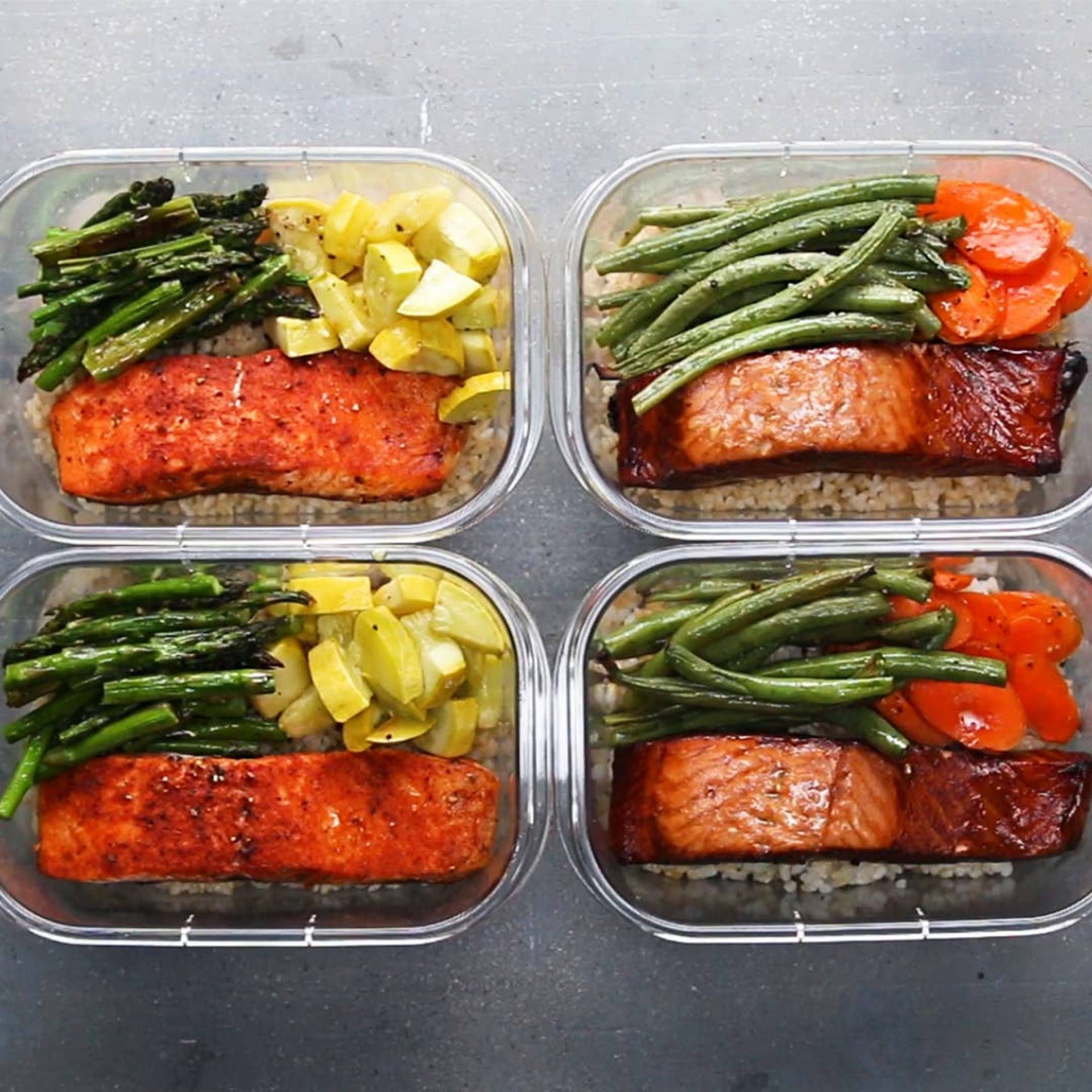 Sample Pescatarian Meal Pack